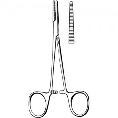 """Halsted Mosquito Hemostatic Forceps - Straight, 5"""""""